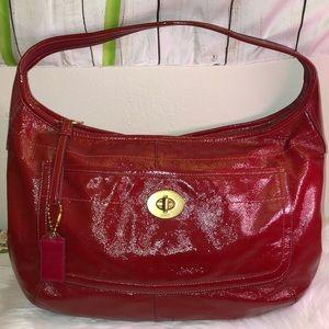 Coach Vintage Leather Pat Shoulder Bag EC